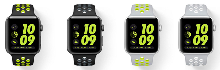 řemínky - Watch Series 2 - Apple Watch Nike +