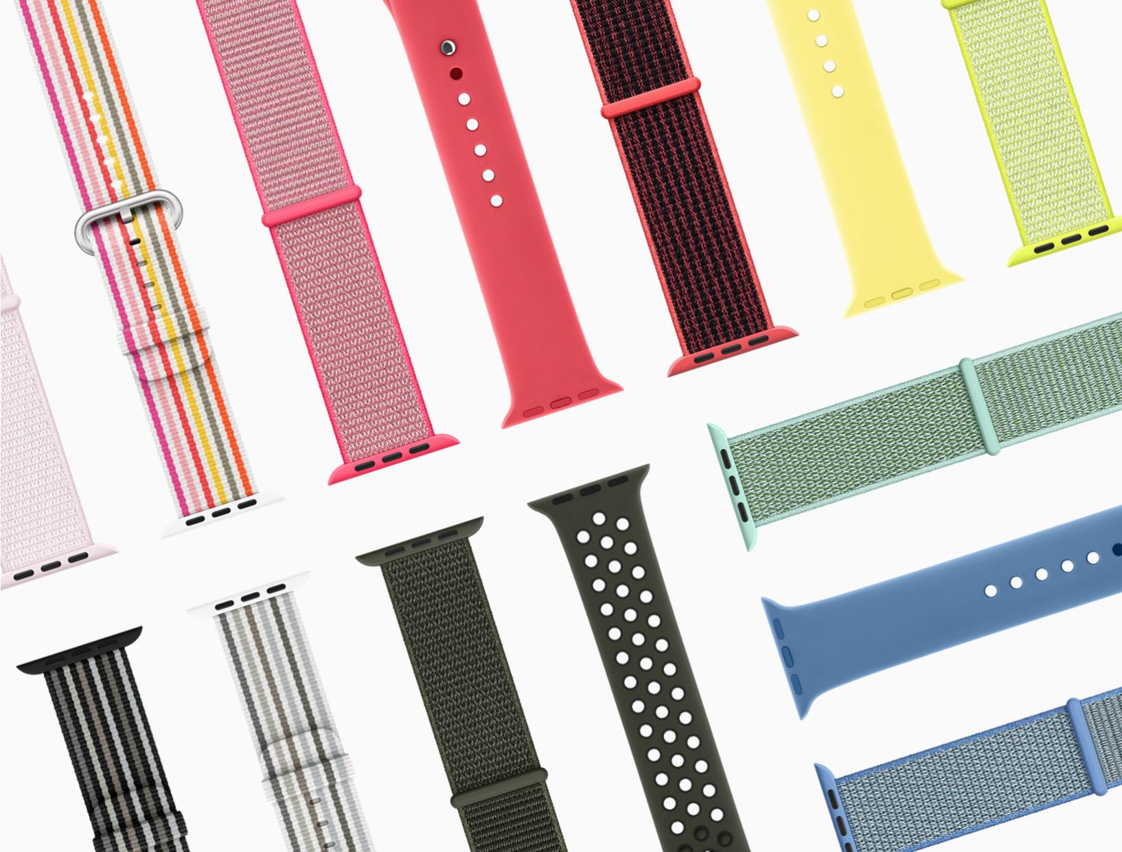 4c83692fab43 Apple odhalil nové barvy řemínků pro Apple Watch inspirované jarem ...